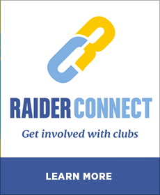 Raider Connect - Learn More About How to Get Involved with Clubs