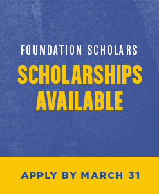 Foundation Scholarships Available - Apply by March 31
