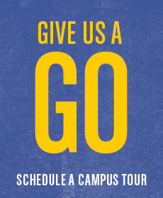 Give us a GO: Schedule a Campus Tour