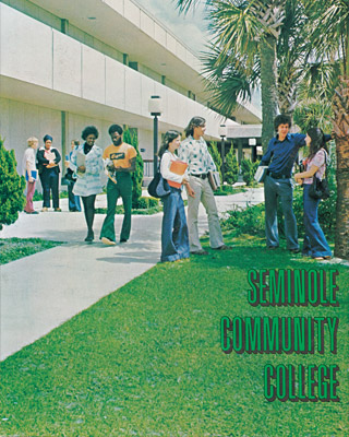 Seminole Community College Students in the 1970's