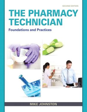 PHARMACY TECHNICIAN:FOUNDATIONS...