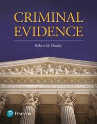 EBK CRIMINAL EVIDENCE