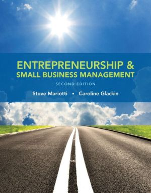 ENTREPRENEURSHIP+SMALL BUSINESS MGMT.