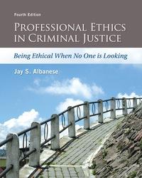 EBK PROFESSIONAL ETHICS IN CRIMINAL JUS