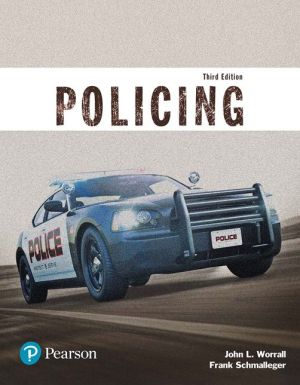 POLICING(JUSTICE SERIES)