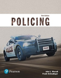 EBK POLICING (JUSTICE SERIES)