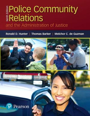 POLICE-COMMUN.RELAT.+ADMIN.OF JUSTICE