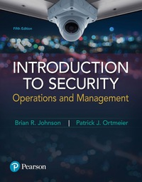 EBK INTRODUCTION TO SECURITY