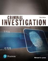 EBK CRIMINAL INVESTIGATION (JUSTICE SER