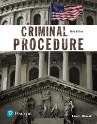 EBK CRIMINAL PROCEDURE (JUSTICE SERIES)