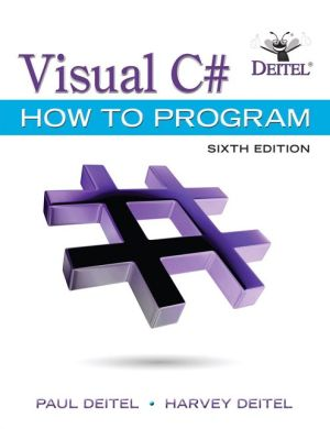 VISUAL C#:HOW TO PROGRAM-W/ACCESS
