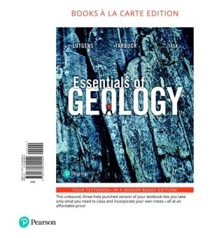 ESSENTIALS OF GEOLOGY (LOOSELEAF)