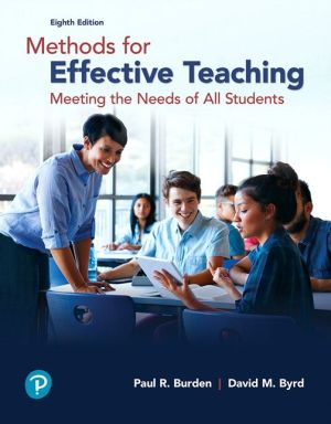 METHODS F/EFFECTIVE TEACHING