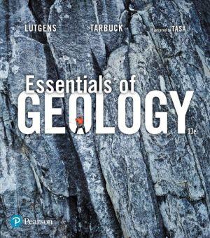 EBK ESSENTIALS OF GEOLOGY