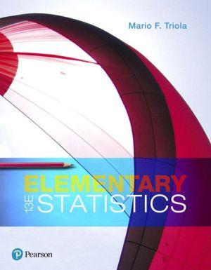 ELEMENTARY STATISTICS-W/MYSTATLAB