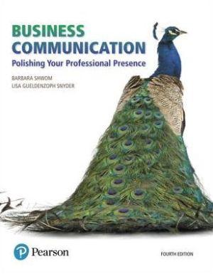 BUSINESS COMMUNICATION-W/MYBCOMMLAB