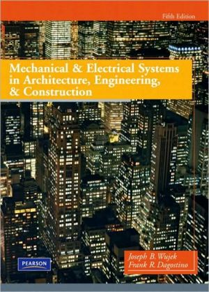 MECH.+ELEC.SYSTEMS IN CONSTRUC.+ARCH.