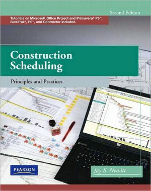CONSTRUCTION SCHEDULING-W/CD