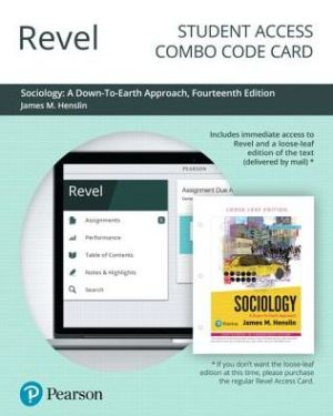 SOCIOLOGY DOWN-TO-EARTH REVEL ACCESS >I