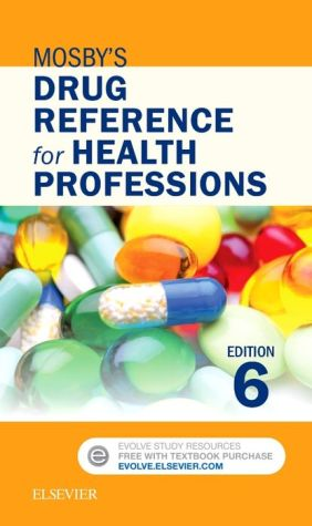 MOSBY'S DRUG REFERENCE F/HEALTH PROF.