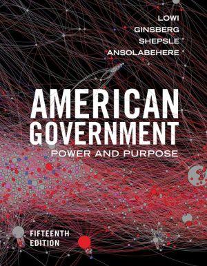 AMERICAN GOVERNMENT (CLOTH)