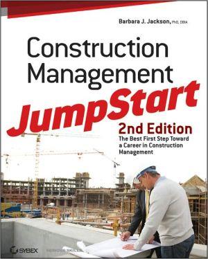 EBK CONSTRUCTION MANAGEMENT JUMPSTART: