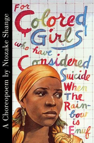 FOR COLORED GIRLS...CONSIDERED SUICIDE