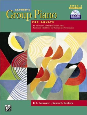 ALFRED'S GROUP PIANO F/ADULTS,BK.2-W/CD