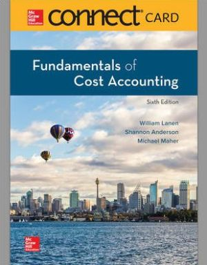 FUNDAMENTALS OF COST ACCT.-CONNECT PLUS