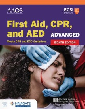 FIRST AID,CPR,+AED:ADVANCED-W/NAVIGATE
