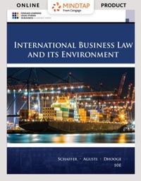 EBK MINDTAP BUSINESS LAW FOR SCHAFFER/A