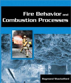 FIRE BEHAVIOR+COMBUSTION PROCESSES