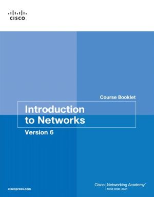 INTRODUCTION TO NETWORKS,V.6-COURSE BK.