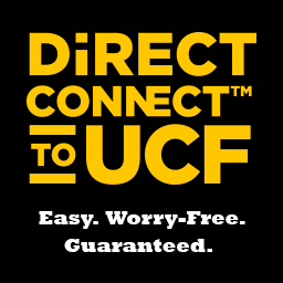 Direct Connect to UCF, Easy. Worry-Free. Guaranteed.