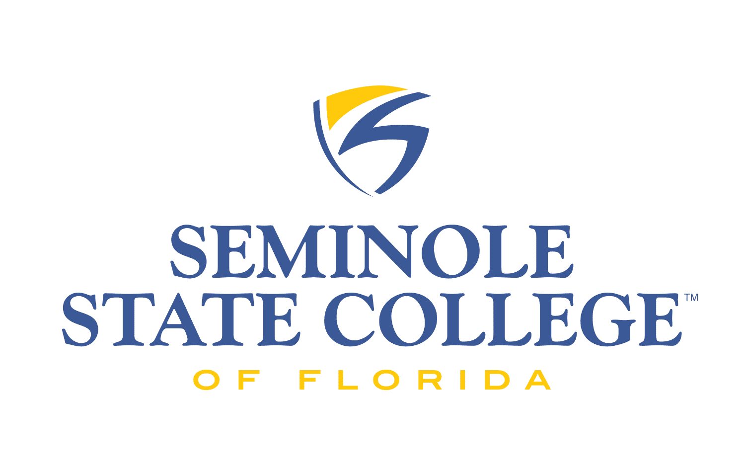 Seminole State College of Florida Logo - 2 Line, Centered