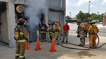 Firefighting at Seminole State College