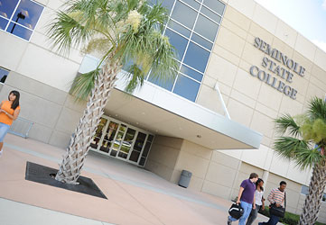Seminole State's Heathrow Campus Entrance