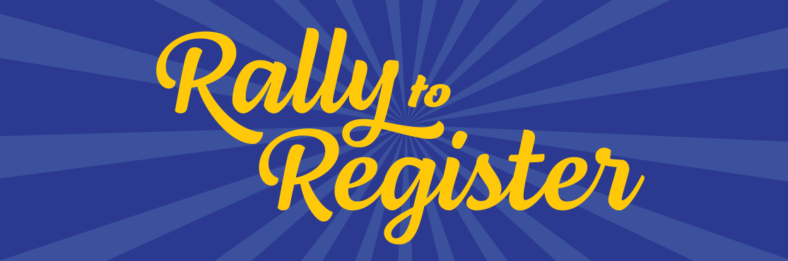 Rally to Register contest